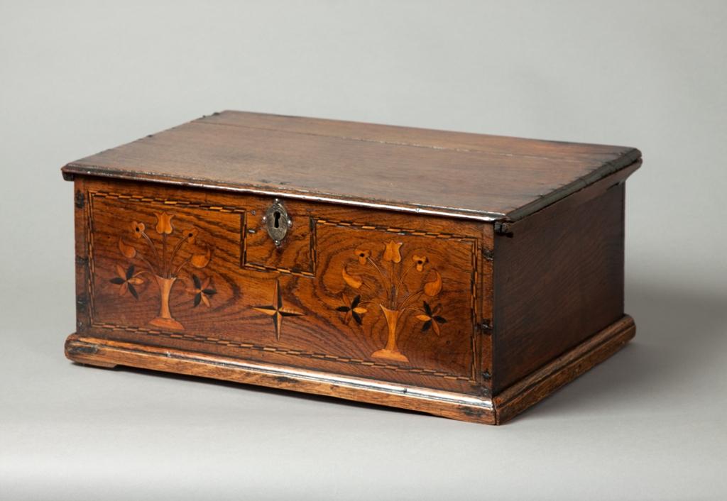 Gower inlaid box